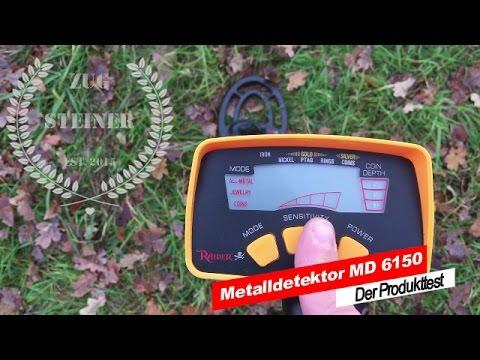 Metalldetektor MD 6150 - Der Produkttest