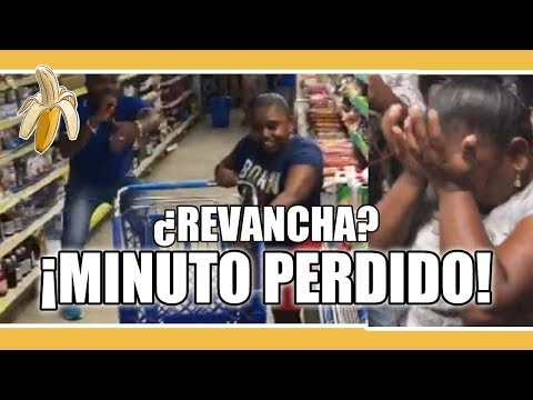 MINUTO MILLONARIO O ¿MINUTO PERDIDO? / SUPERMERCADOS ASTURIAS REGALA UN MINUTO DE MERCADO GRATIS