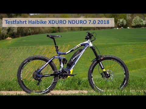 Testfahrt Haibike XDURO NDURO 7 2018