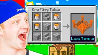 Minecraft, But You Can Craft BUILDINGS!