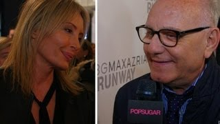 BCBG Max Azrias Lubov Azria On How To Get Your Winter Layers Right | New York Fashion Week