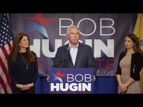 Bob Hugin Campaign Announcement