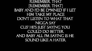 Marvin's Room- Chris Brown [Lyrics On Screen]