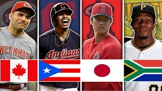 BEST MLB PLAYER FROM EACH COUNTRY