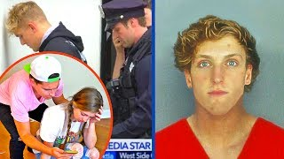 LOGAN PAUL ARRESTED WITH JAKE PAUL PRANK ON GIRLFRIEND! **PRANK WARS GONE WRONG**