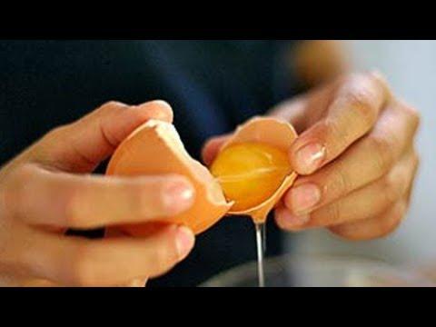 Как определить порчу яйцом