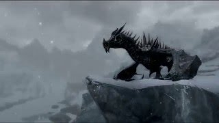 Skyrim мод (Dragon Animation Replace) для прохождение