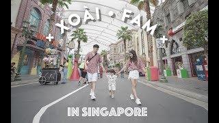 XOÀI FAM IN SINGAPORE | UNBOX NÚT BẠC YOUTUBE