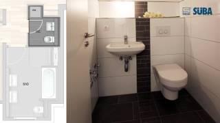 preview picture of video 'SÜBA - Rundgang innen - Baden Baden - 3 1/2 Zimmer Muster-Eigentumswohnung'
