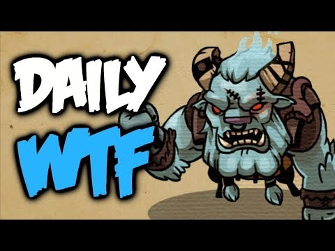 Dota 2 Daily WTF - You can't Run from ROCKETS!