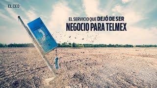 El servicio que dejó de ser negocio para Telmex