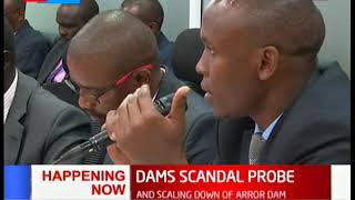 Senate Committee hears petition on the Dams scandal probe