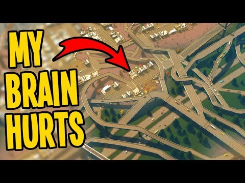 300k Nightmare City Traffic Fixed with NO MODS in Cities Skylines