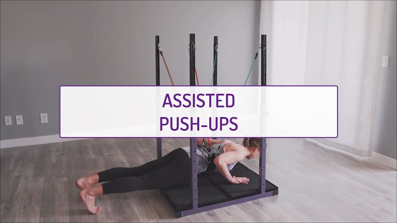 Assisted Push-Ups