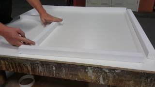 Foam Rails - Concrete Countertop