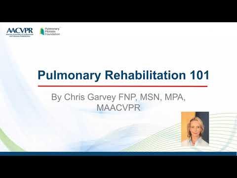 Pulmonary Rehabilitation 101