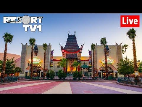 🔴Live: Disney's Hollywood Studios Fun in 1080p - Walt Disney World Live Stream - 6-18-19