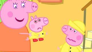 Свинка Пеппа на русском все серии подряд - Больной Джордж - Мультики