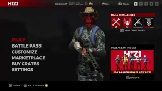 Live H1Z1 Battle royal Online PS4