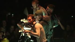 Coldplay performing the techno version of God Put a Smile Upon Your Face & Talk