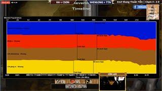 ⏩AOE |Việt-Trung| 2vs2 Shang | Chim Sẻ Đi Nắng+ Hồng Anh vs ShenLong+ TiểuThủyNgư | 08-03-2019
