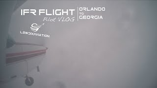 IFR Flight From Orlando to Georgia| Pilot VLOG