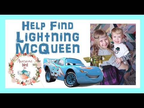 Blue Dynaco Lightning McQueen Magic Trick - Disney Pixar Diecast Toy Cars