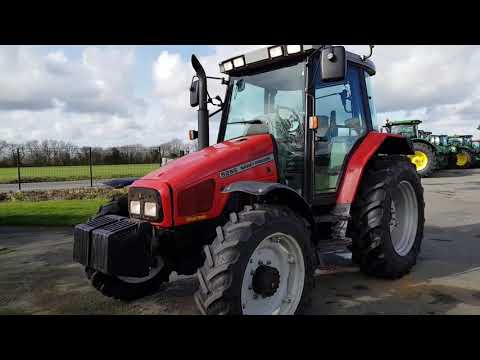Tracteur Massey Ferguson 6255 N° 135085 (2002)