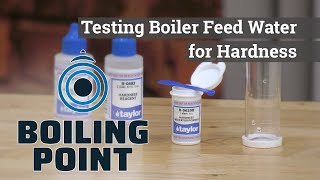 Testing Water for Hardness - Boiling Point