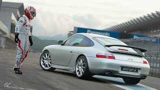 GT Sport - Update 1.28 - Porsche 996 Race on Fuji Speedway F