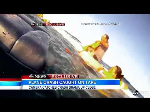 Nagranie z katastrofy samolotu na Hawajach