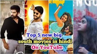 Top 5 New South big  Movies in hindi dubbed   Now Available on YouTube   Penguin   Ramarjuna   2021