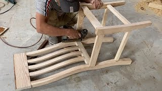 How To Build A Wooden Chairs For Dining Table - Amazing Woodworking Projects Furniture