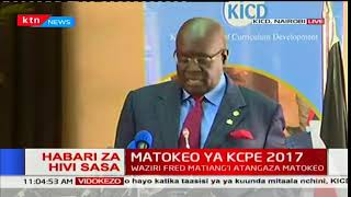 George Magoha: Every Kenyan child was given an opportunity during this KCPE as we promised