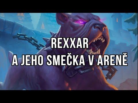 Rexxar a jeho smečka v aréně