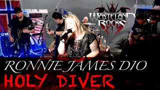 HOLY DIVER  RONNIE JAMES DIO  Cover With Lyrics  Streamed LIVE In HD With VFX And HQ Audio