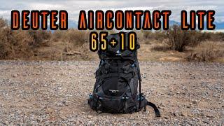 Deuter Aircontact Lite 65 + 10 Pack (2021)