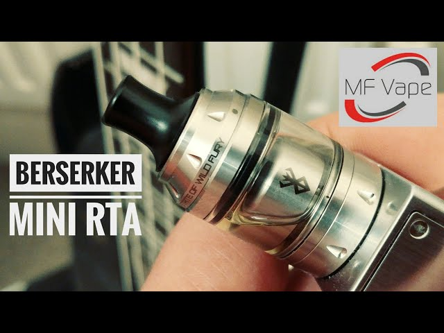 Berserker Mini MTL RTA - Review, build & wick