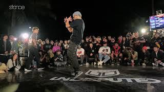 RM vs Tawfiq [top 16] // .stance // HUALIEN BBOY CITY x UNDISPUTED