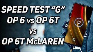 Speed Test G: OnePlus 6 vs OnePlus 6T vs OnePlus 6T McLaren