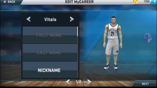 NBA2K17 v27 android (How to unlock all badges)
