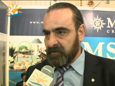 Interviu Ioan Basea – croaziere.net, Târg Holiday Market, 17-21 martie, Bucureşti – VIDEO