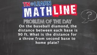 45-45-90 Right Triangles | Real World Applications |TNLearn |Mathline