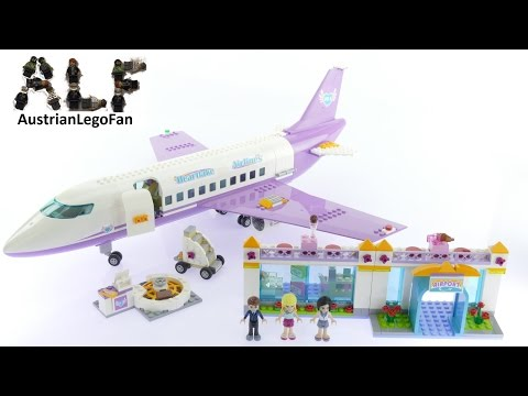 Vidéo LEGO Friends 41109 : L'aéroport de Heartlake City