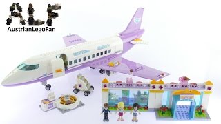 Lego Friends 41109 Heartlake Airport Speed Build