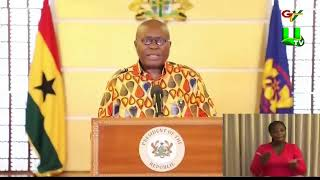 Akufo-Addo Imposes A Two-Week Lockdown On Selected Areas in Ghana