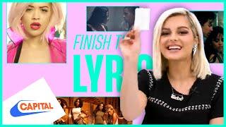 Finish The Lyric: Bebe Rexha | Capital