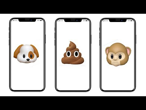 iPhone X Will Let You Create 3D Animoji Using Your Facial Expressions