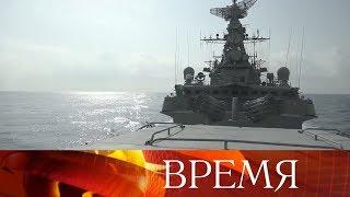 Ракеты «Калибр» уничтожили террористов, которые пытались захватить взвод российской военной полиции.