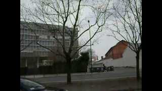preview picture of video 'Avenue Leclerc, Pantin, France'
